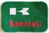 Kawasaki - Embroidered Patch